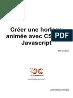 Creer Une Horloge Animee Avec Css3 Et Javascript