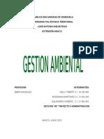 Analisis de Gestion Ambiental