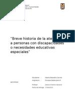 Trabajo de introducción a las Necesidades Educativas Especiales