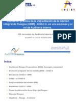 [PD] Presentaciones - Gestion de Riesgos ERM - COSO II (1)
