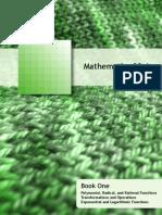 Math30-1 Workbook One