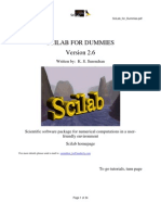 SciLab for Dummies