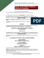 Ley Procesal Electoral