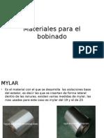Materiales Para El Bobinado