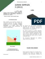 Plano Inclinado Torno y Cuc3b1a