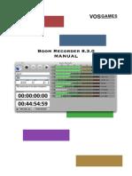 Boom Recorder Manual