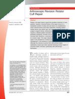 Arthroscopic Revision Rotator Cuff