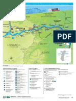 Kanäle Frankreich Marne-Rhein