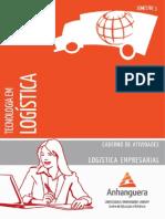 Tecnologia Em Logistica Logistica Empresarial Caderno de Atividades