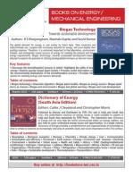 Subject Brochure - Energy