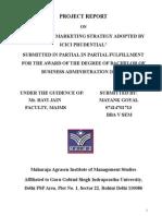 Icici Final Report