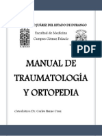 Manual de Traumatología y Ortopedia