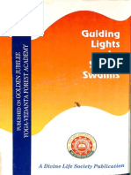 Guiding Lights by Senior Swamis - Divine Life Society