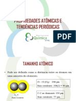 Aula 11 - Propriedades Periodicas