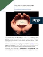 Ley de Protección de datos en Colombia