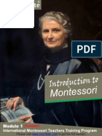 Module 1 Montessori Method