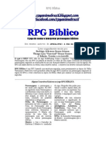 Rpg Bíblico (Sem Ficha)