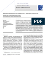A Posteriori Modelling of the Growth Phase of Dalmarnock Fire Test One