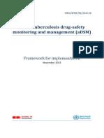 Active tuberculosis drug-safety monitoring and management (aDSM),  Framework for implementation