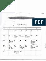 senior trans calendar