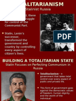 TOTALITARIANISM and Stalin.ppt