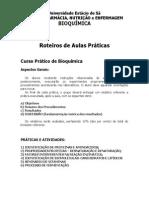 Roteiros Aulas Pr�ticas - Bioqu�mica - Far Nut Enf.pdf