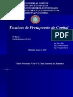 Presentación Gerencia Financiera
