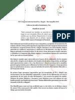 Manifiesto FyA 2015