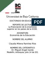 LA FINANCIACION DE LA ENSEÑANZA SUPERIOR EN LOS PAISES DE LA OCDE TENDENCIAS Y MODELOS.doc (1)