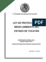 Ley de Proteccion Al Medio Ambiente Del Estado de Yucatan