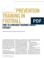 Injury Prevention Training in Football
