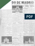 El Heraldo de Madrid. 12-10-1915.Página 3 Infanticidio