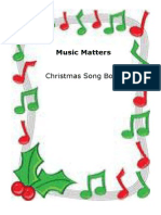 Music Matters Christmas Song Book
