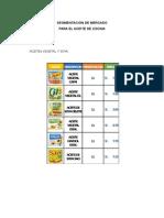 Segmentación de Mercado Para El Aceite de Cocina