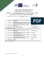 Romania Agenda Dissemination