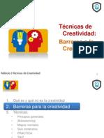 Técnicas de Creatividad Barreras a la Creatividad Francisco Javier Cervigon Ruckauer