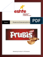 Frubis - Marketing Plan