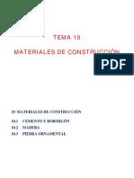 Propiedasdes de Los Materiales de Construccion
