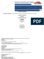 2. Unidad Didáctica de Instalación Configuración de Redes - Computación e Informática - 2012 II