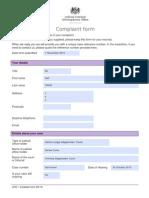 Judicial Conduct Complaint – Redact