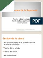 Clase 2 - Definiciones de La Hipnosis 2010