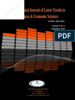 International Journal of Latest Trends in Finance and Economic Sciences