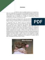 Afectividad - Psicologia
