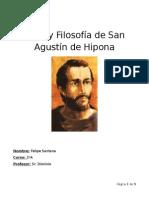 Obra y Filosofía de San Agustín de Hipona