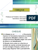 Expo Sic Ion Cheque