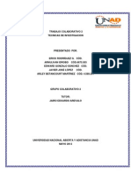 Colaborativo Tecnicas de Investigacion 2 ( UNAD)
