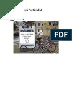 Bicicleta Para Publicidad