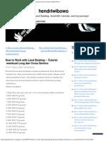 Tutorial Membuat Long Dan Cross Section _ Hendr