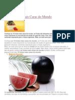 Frutas e Seus Bebefícios