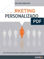Implementar El Marketing de Personalizacin
